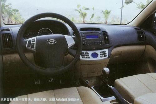绝地反击 试驾北京现代伊兰特悦动 图高清图片