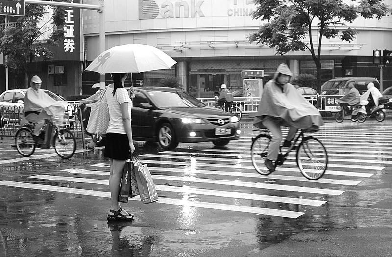 宁波继续暴雨