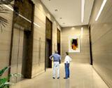 德泰御峰大厦电梯厅效果图