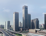 北京银泰中心远视图