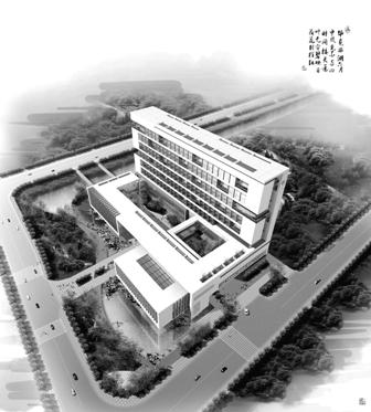 市妇女医院效果图