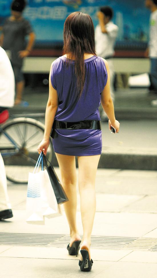 街拍杭州美女巧搭单品--浙江在线-伊人在线图片