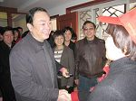 慰问杭州天水街道社区志愿者