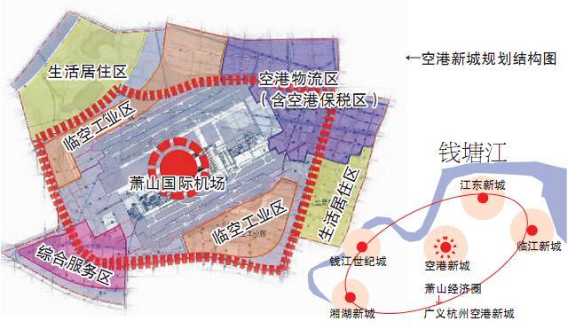 萧山机场升级为 空港新城