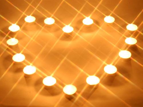情人节装饰之烛光