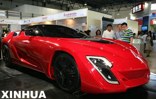 中国国际环保展览会上亮相的新式节能车 节能车高清图片