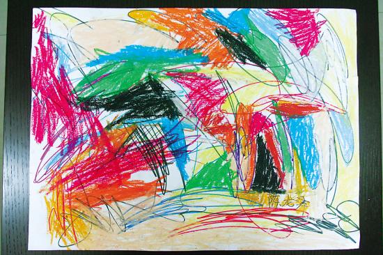 你知道它是哪位粗心小画家的作品,或者你就是小画家本人或者他的爸