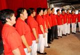 【摄影】台州社区老人载歌载舞庆国庆