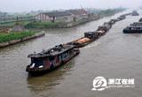 【摄影】古运河上运输忙