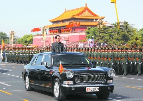 胡锦涛国庆阅兵所乘车辆将批量生产