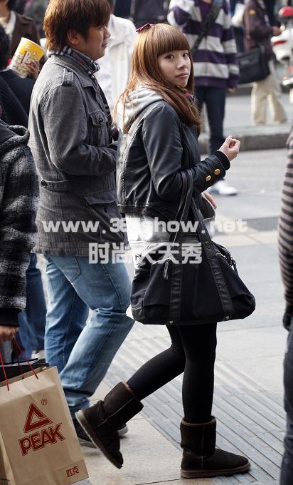 本网原创街拍评论开栏啦(-杭州银泰店庆街拍美图 街拍,天天秀图片