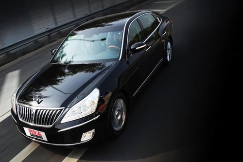 高品质韩国豪华车 深度试驾现代雅科仕高清图片