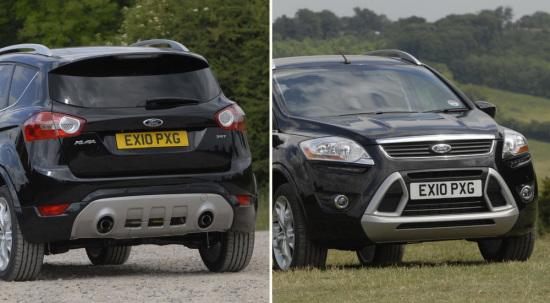 长安福特将引进首款SUV车型Kuga大改款高清图片