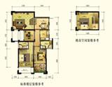 积・家B2奇数约90平米<br>(装修参考图)