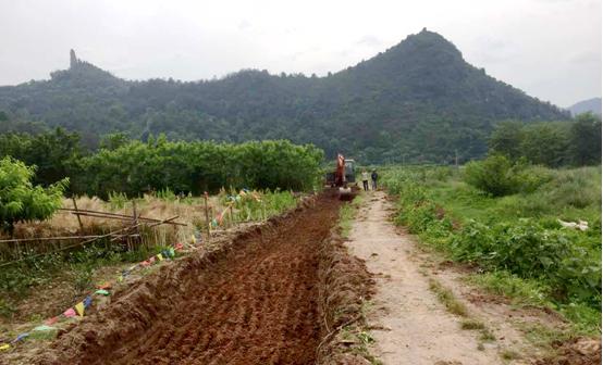 仙都乡村风情绿道项目建设