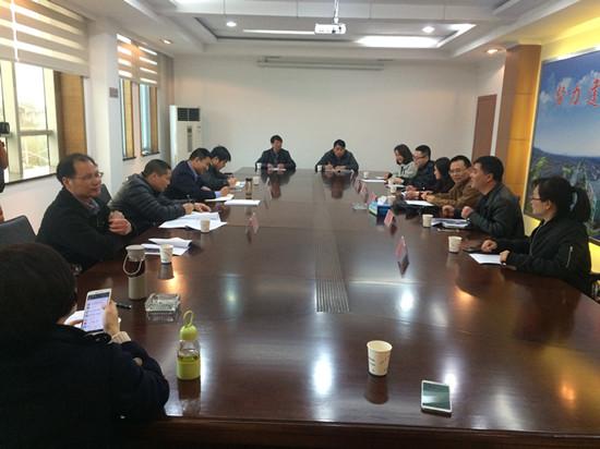 省线乱拉整治组来球川镇调研工作。