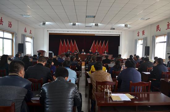 元通召开小城镇环境整治动员会。