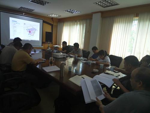 杨林小城镇可研专家论证会。