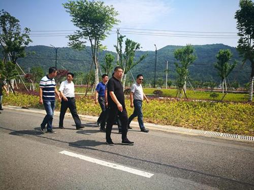 5月31日,县小城镇环境综合整治工作领导小组一行人来到茶院乡,在进行实地走访、了解工程进度后,便听取各家设计单位的设计方案。