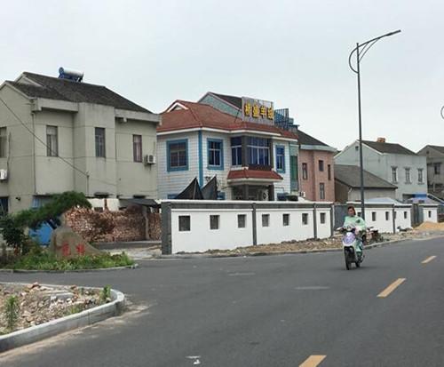 庵余公路综合改造工程。